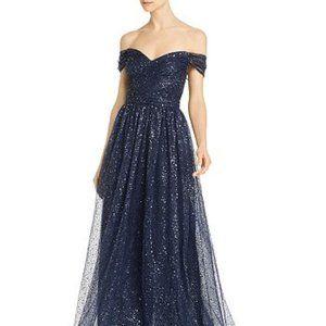 Aidan Mattox Sequin Grecian Gown